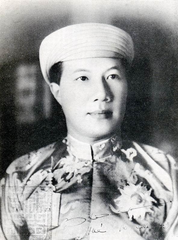 Bao Dai the last Nguyen Emperor.