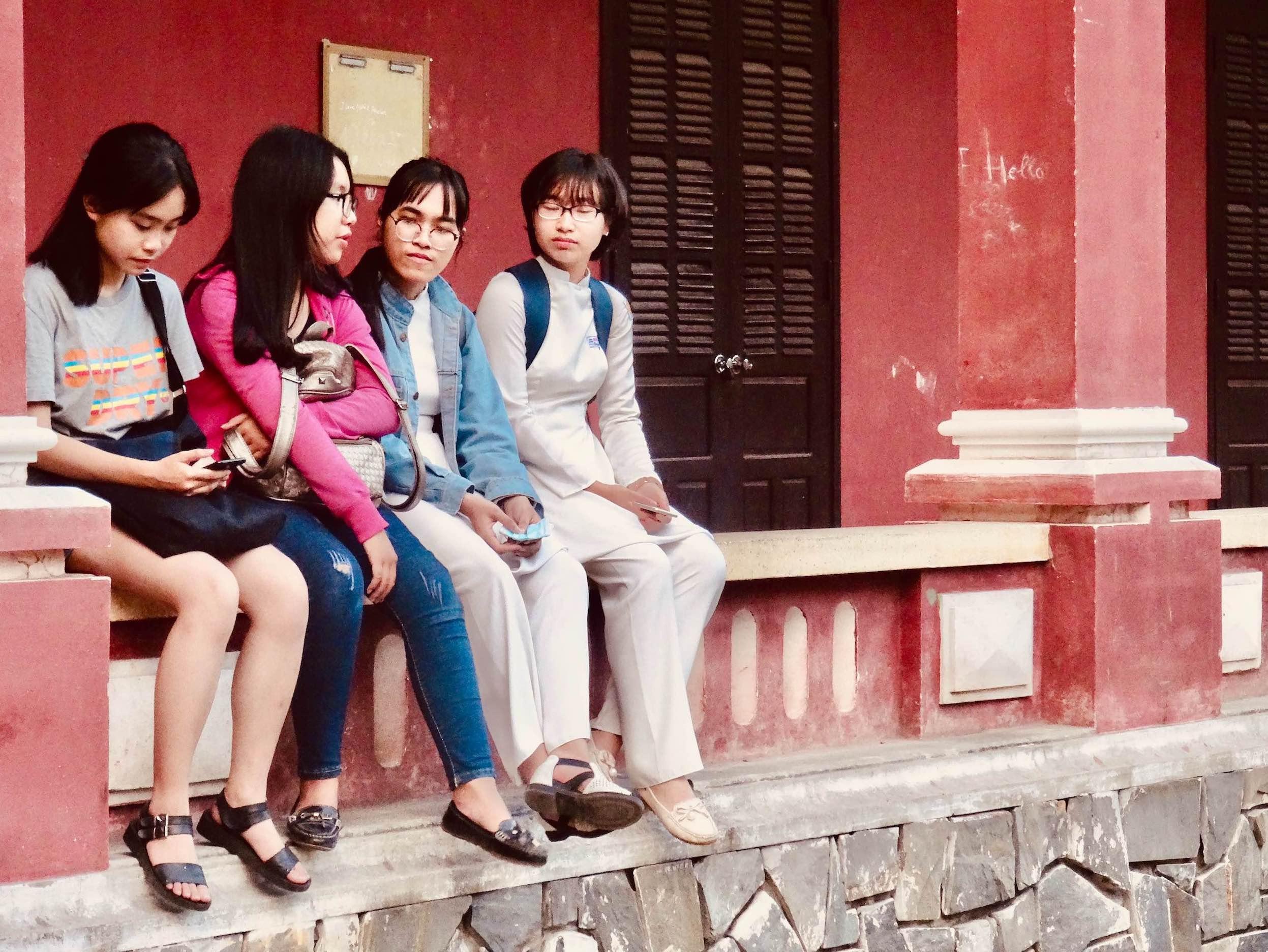 Break time National School Hue.