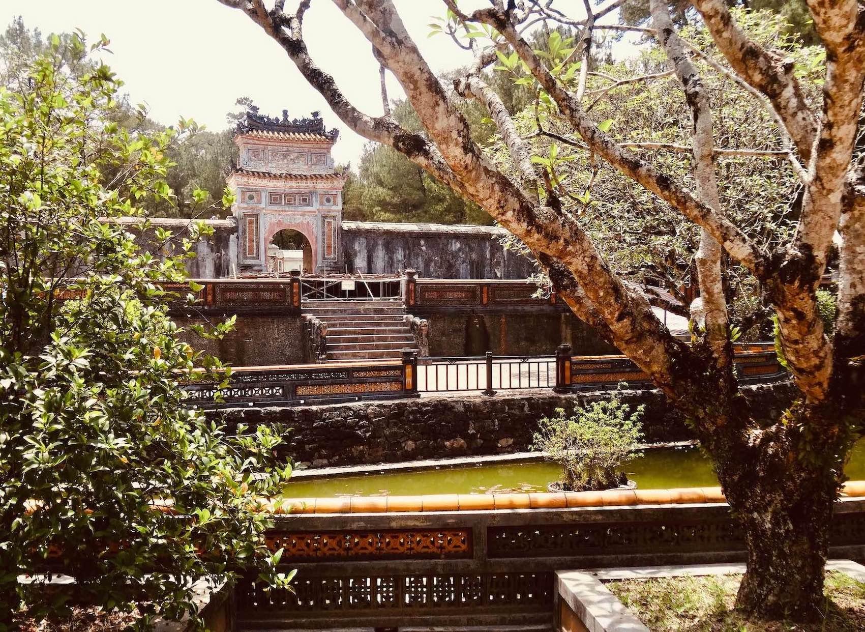 Burial area Tomb of Emperor Tu Duc