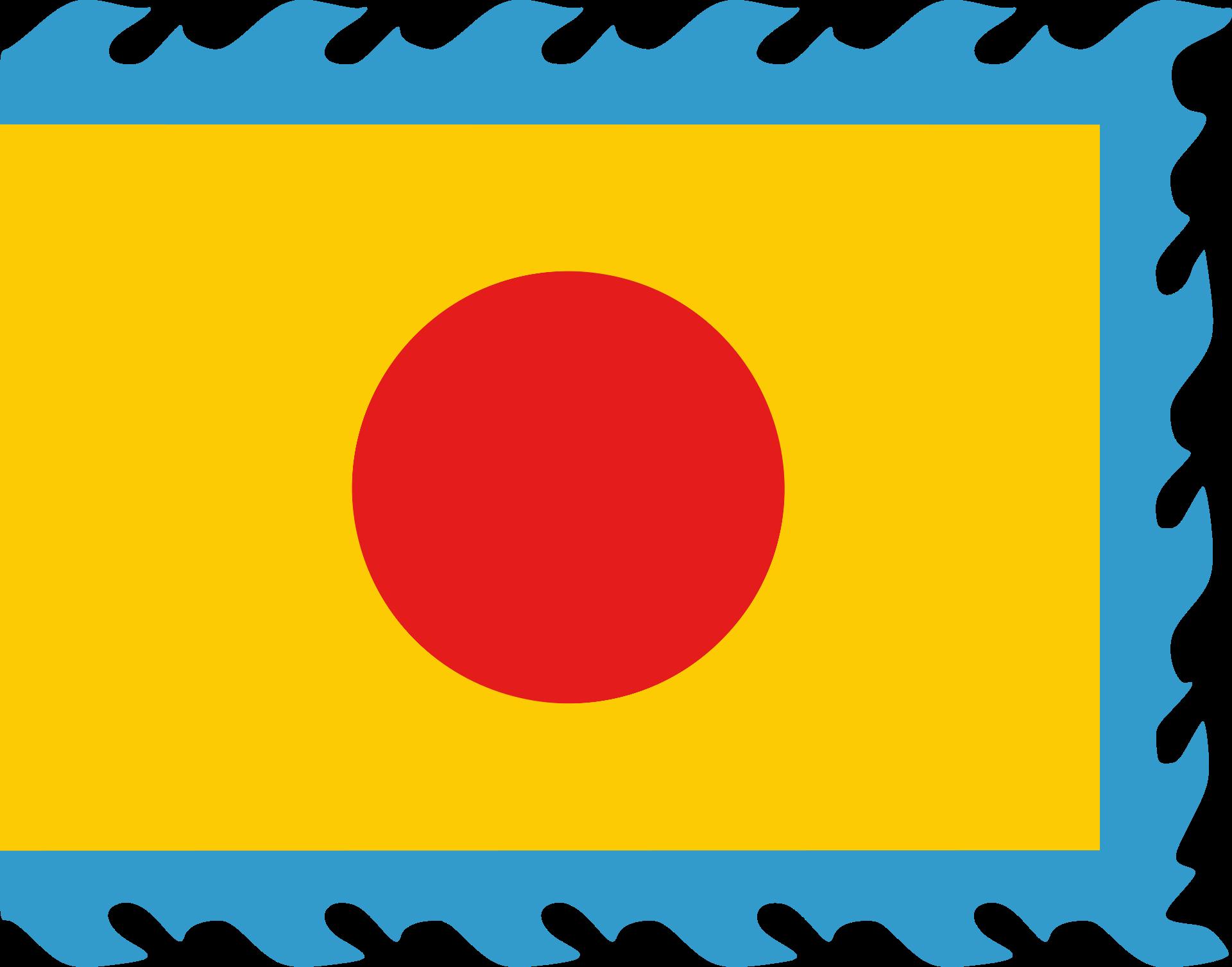 Flag of the Nguyen Dynasty Vietnam.