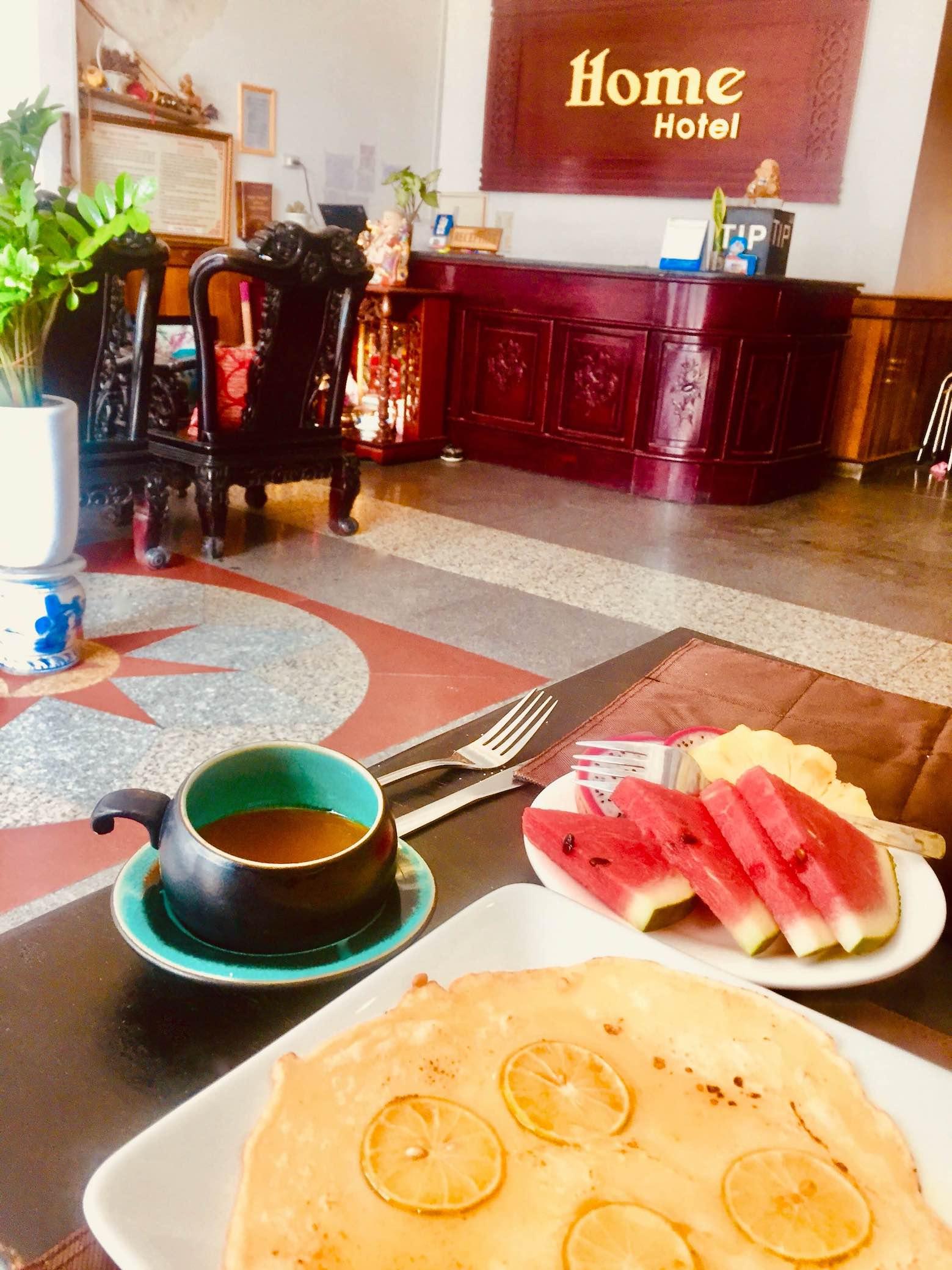 Home Hotel Hue Vietnam.