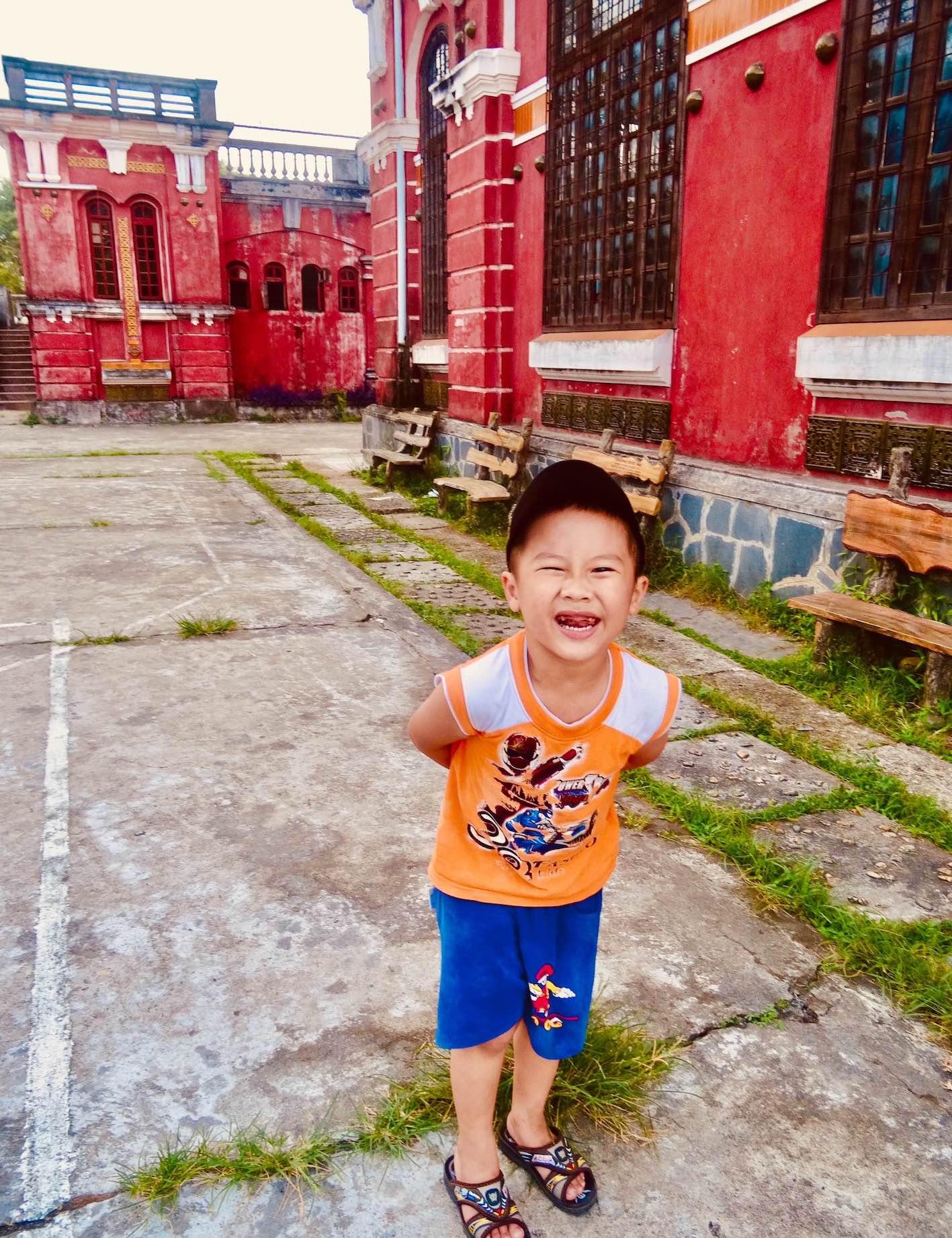 Local boy Hue National School.