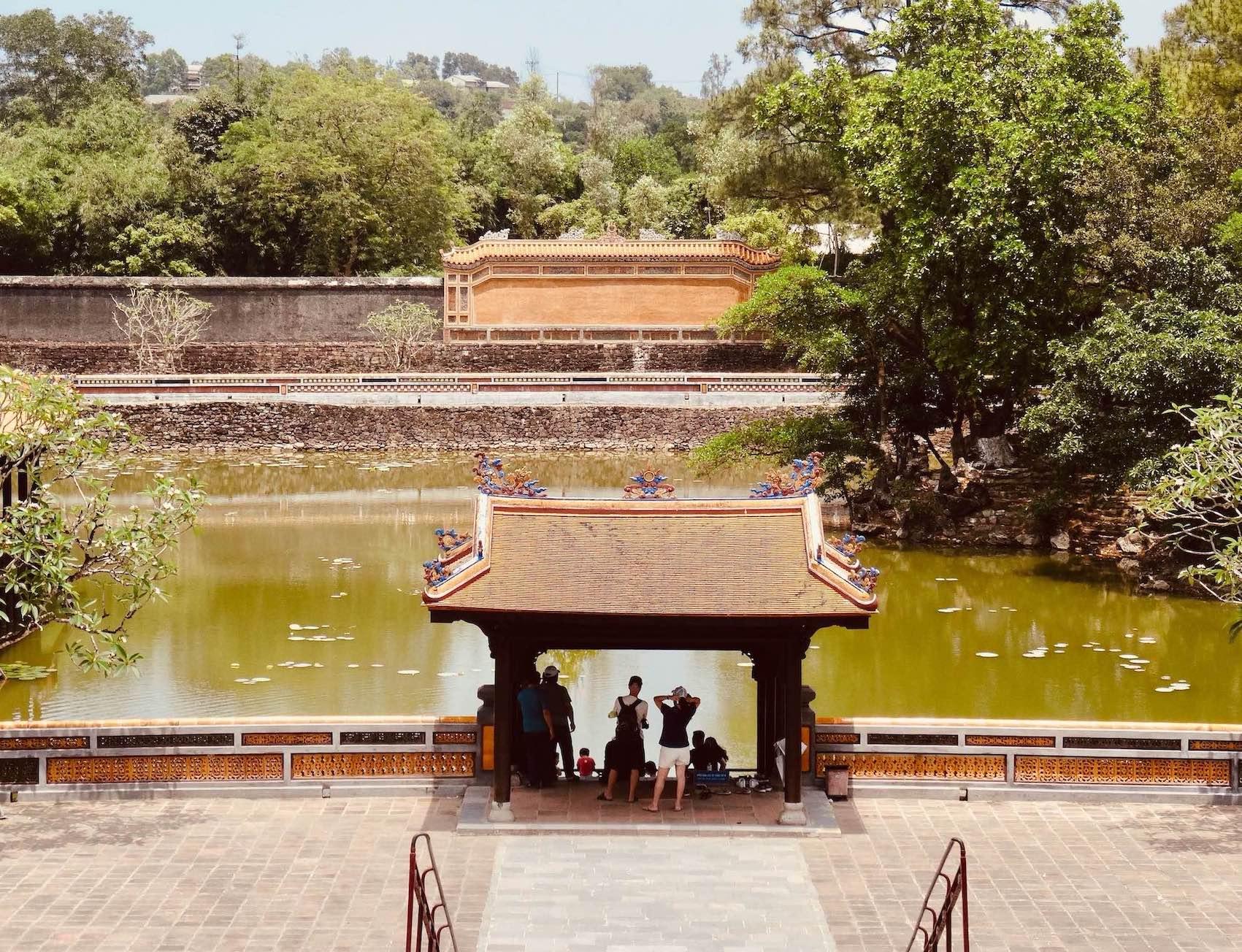 Lotus Pond Mausoleum of Emperor Tu Duc