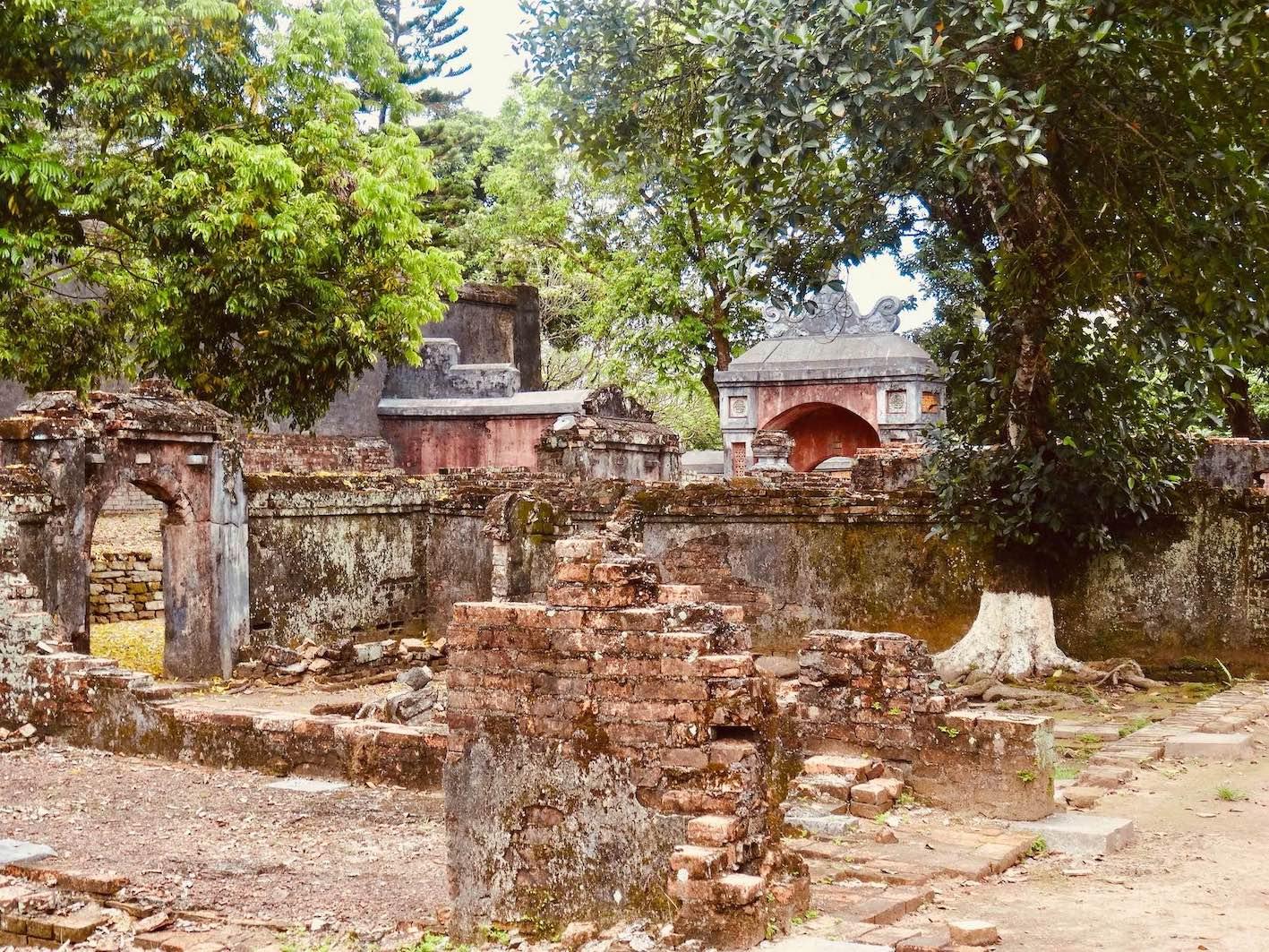 Mausoleum of Emperor Tu Duc Vietnam
