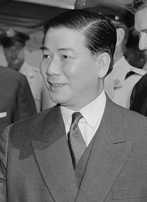 Ngo Dinh Diem President of Vietnam 1955-1963