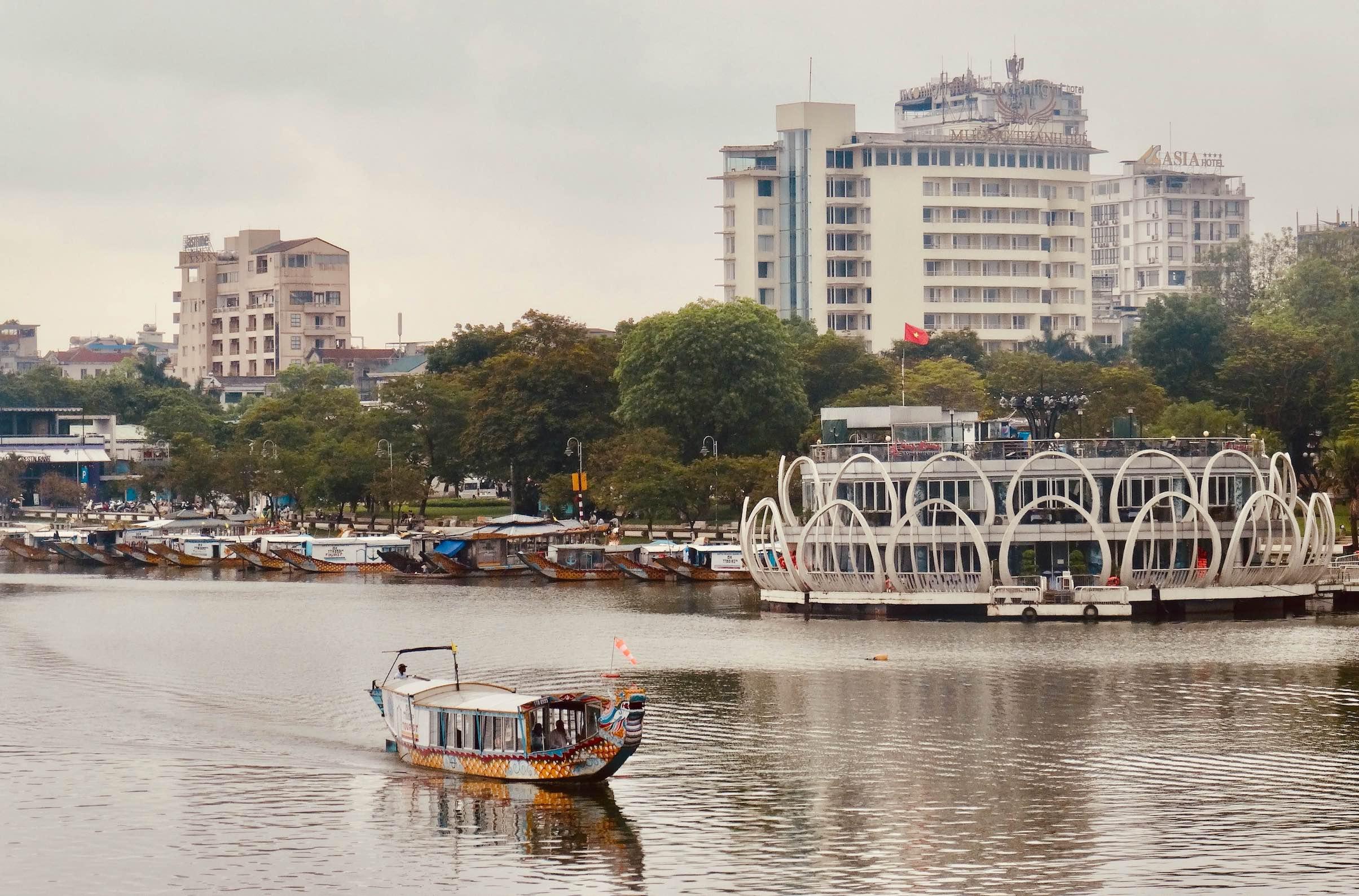 Perfume River Cool Spots Around Hue.