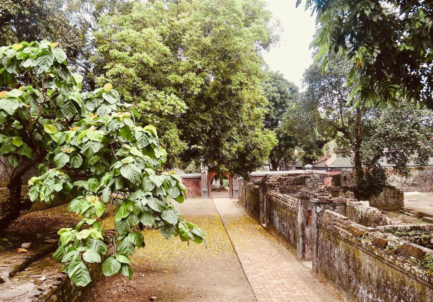 Ruins of Mausoleum of Emperor Tu Duc