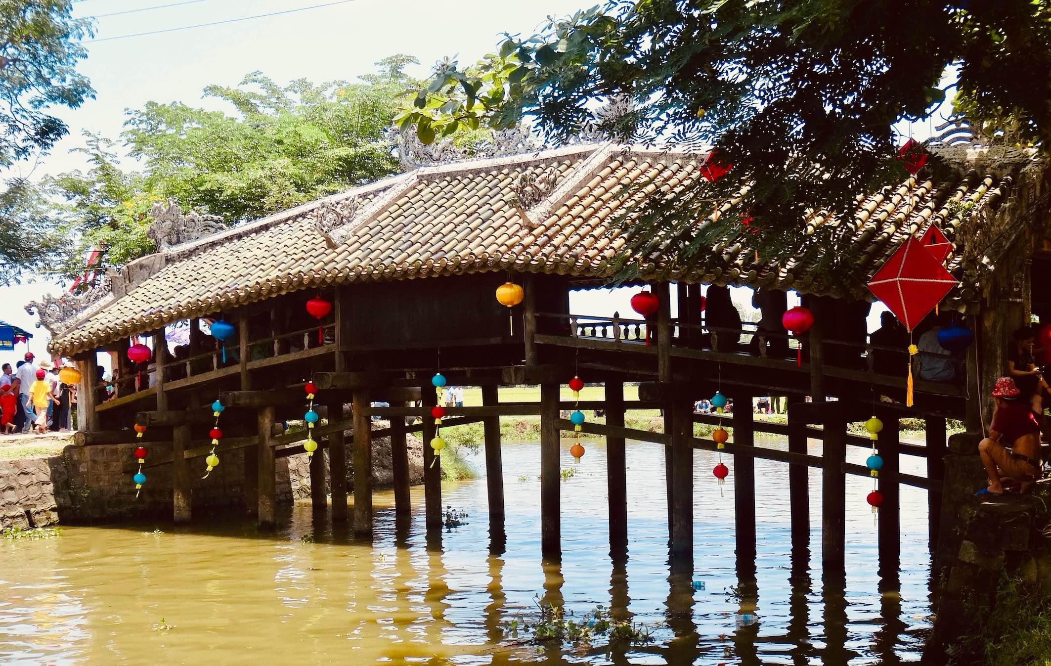 Thanh Toan Bridge Vietnam.