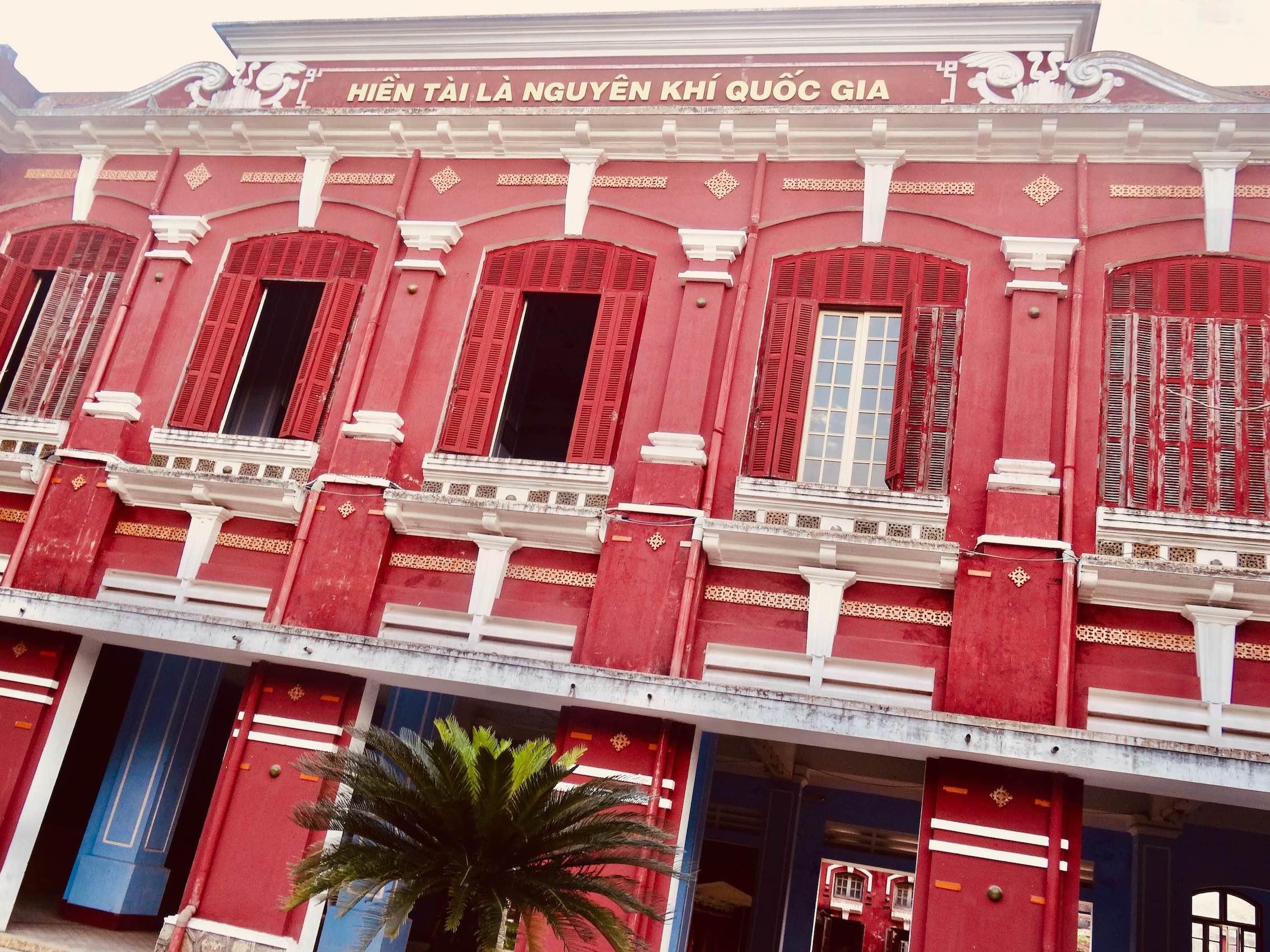The National School Hue Vietnam.