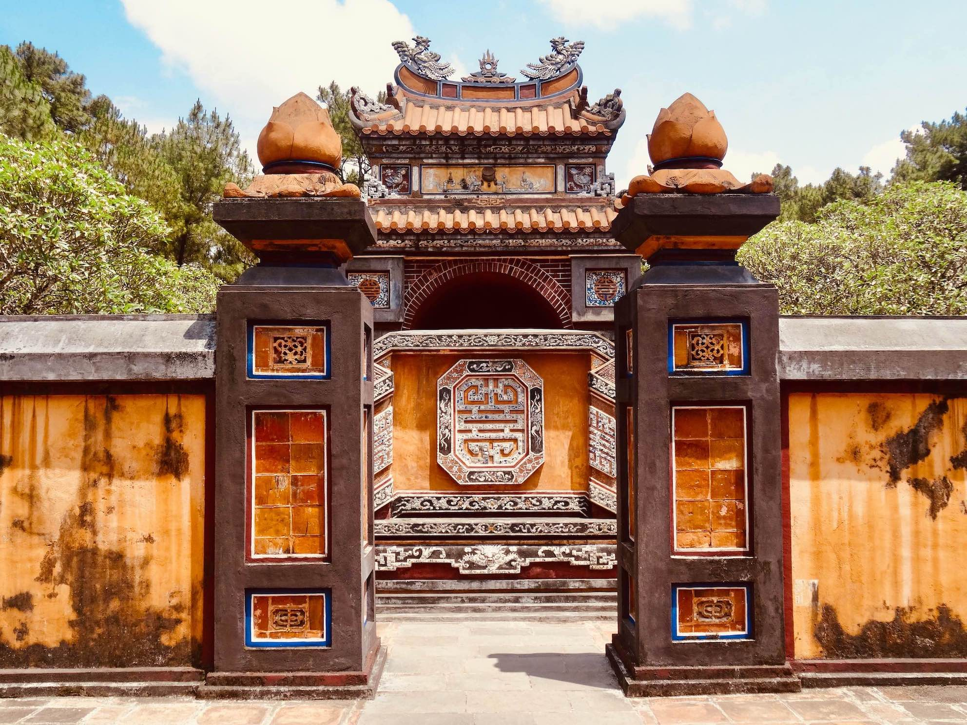 Tomb of Empress Le Thien An Hue Vietnam