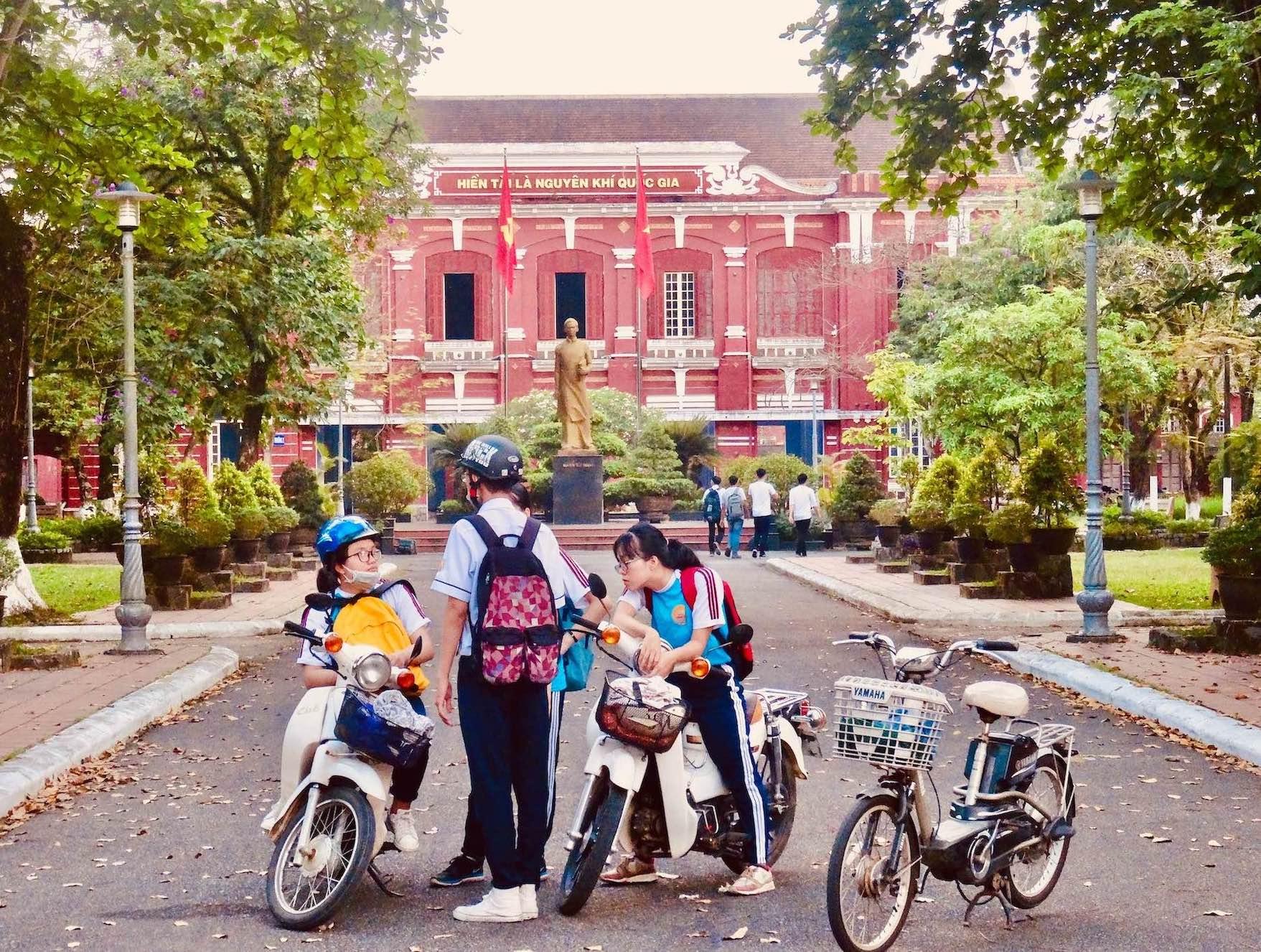 Truong Quoc Hoc National School in Hue