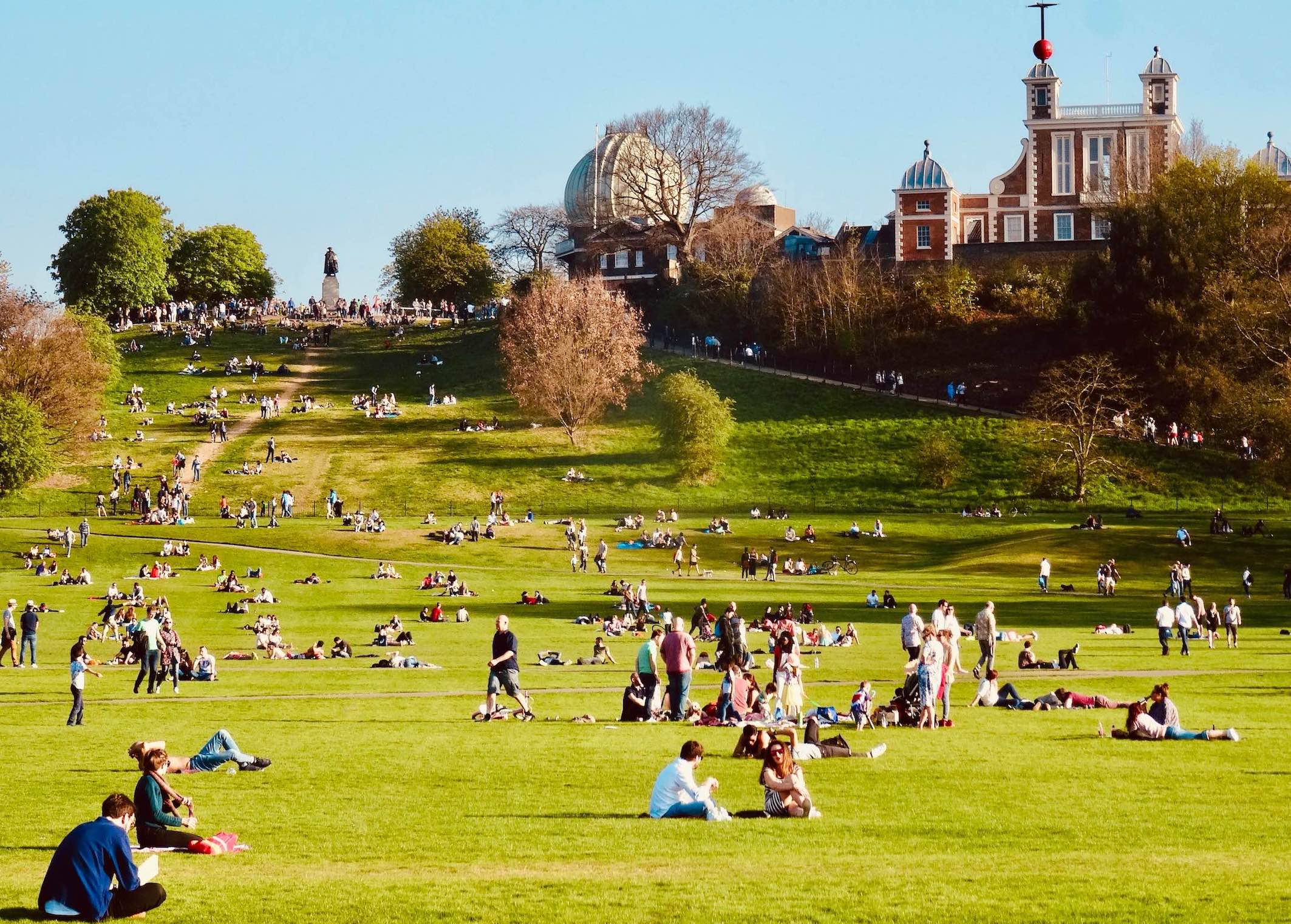 Visit Greenwich Park in London.