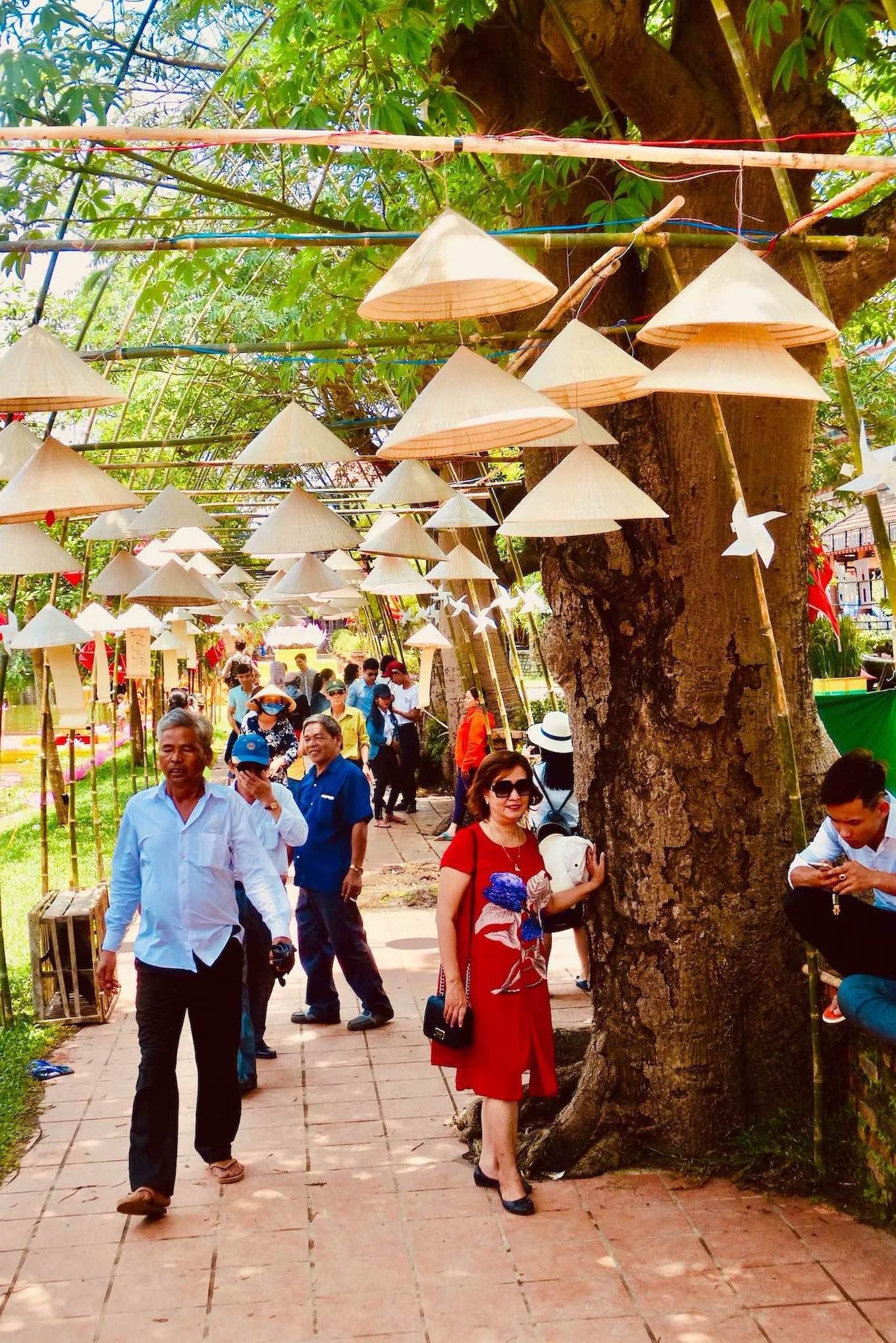 Visit Thuy Thanh Village Hue Vietnam.