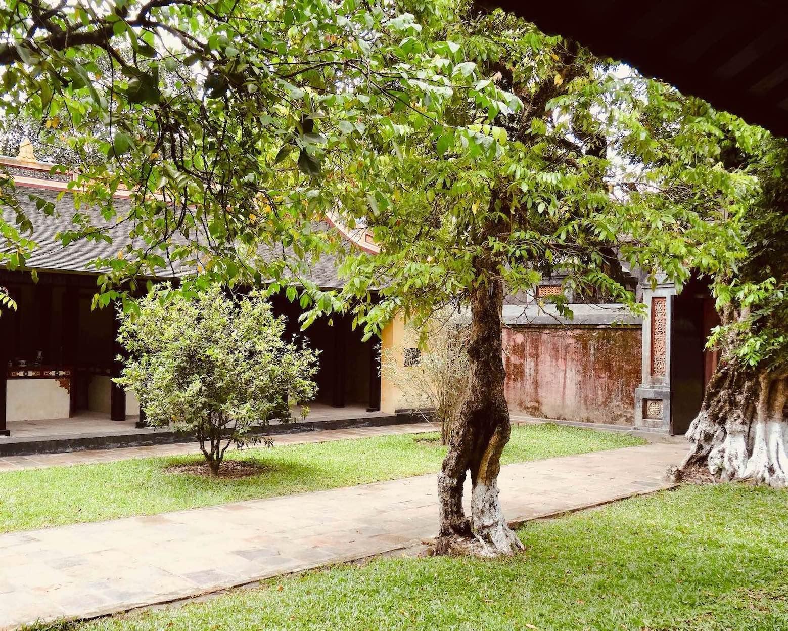 Visit the Mausoleum of Emperor Tu Duc