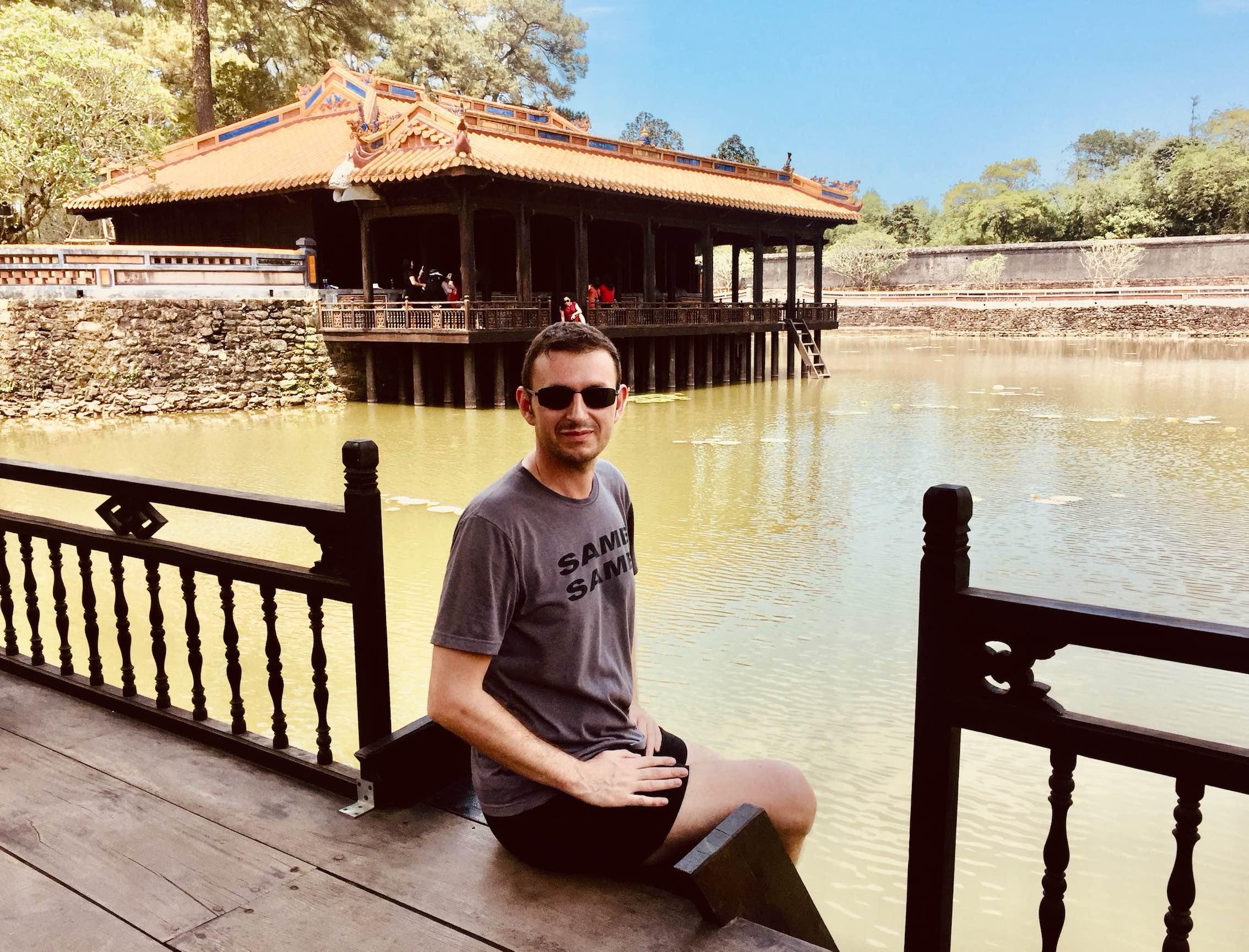 Xung Khiem Pavilion Hue Vietnam.